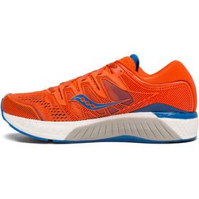 saucony Hurricane ISO 5 - Zapatillas running Hombre - naranja/azul